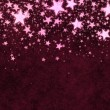 Christmas red stars background — Stock Photo