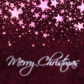クリスマスの赤い星の背景 — ストック写真