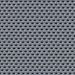 Metal mesh holes background — Stock Photo