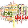 Big datconcept in word cloud — Stock Photo #37042835