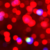 Red lights background — Stockfoto