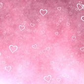 Red hearts background — Foto de Stock