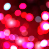 Red lights background — Stock Photo