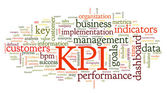 KPI key performance indicators — Stock Photo