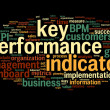 Постер, плакат: KPI key performance indicators
