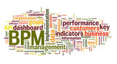 BPM business  performance management — Foto Stock