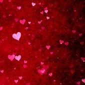 Tło czerwone serca — Zdjęcie stockowe