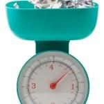 Weight of money — Stock Photo #1737802
