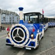 Alesund City Train Sightseeing. Norway. — Stock Photo #15705857