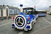 Alesund City Train Sightseeing. Norway. — Stock Photo