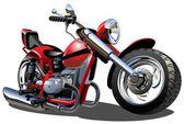 漫画のオートバイ — ストックベクタ