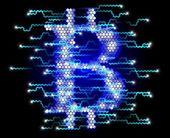 Bitcoin Concept — Stock Photo