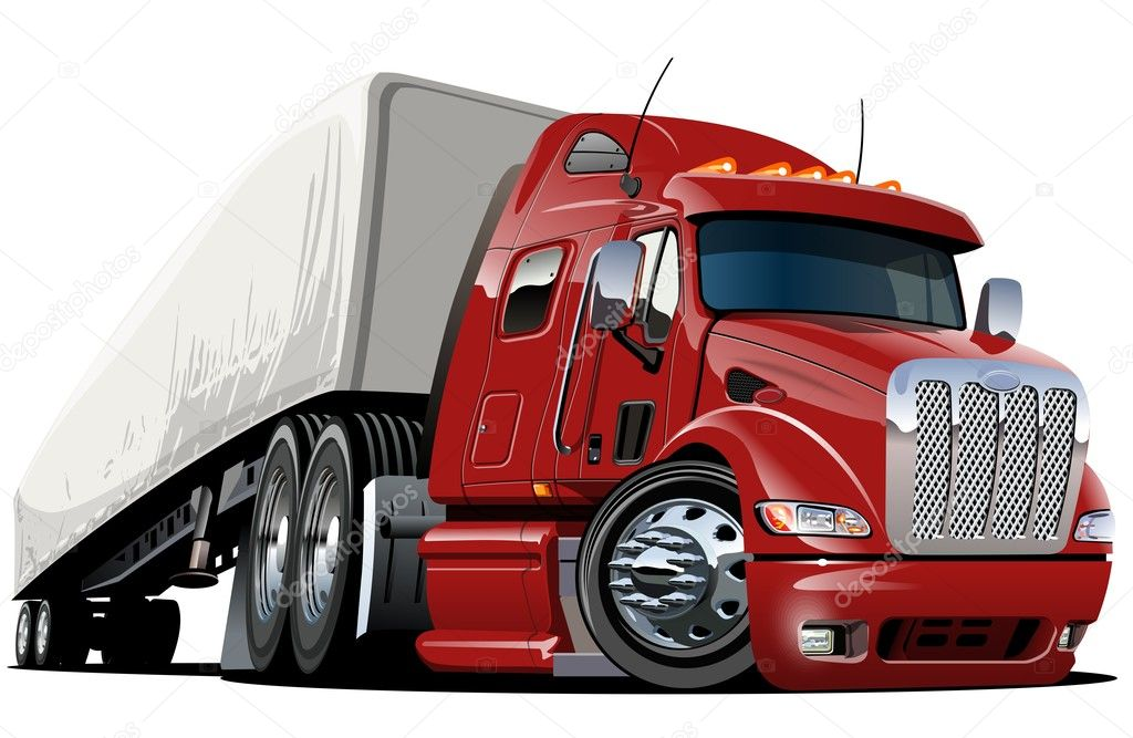 Semi Truck Cartoon Image Cartoon Semi Trucks
