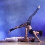 ������, ������: Sensual couple contemporary dancers