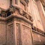 Heads on a church — Stock Photo #9967035
