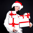 Woman with presents — Stock Photo #13160323