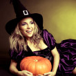 Happy witch — Stock Photo #13160355