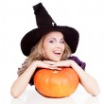 Happy witch — Stock Photo #13160367
