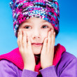 Girl feels cold — Stock Photo #13865357
