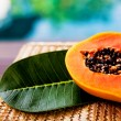 Juicy papaya — Stock Photo #19355107