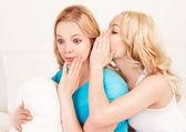 Whispering women — Stock Photo