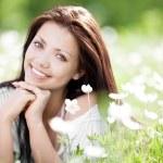 Woman outdoors — Stock Photo #6106122