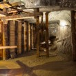 Stockfoto: One of chambers salt in WieliczkSalt Mine, Poland.