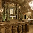 Chapel of Saint Kingin WieliczkSalt Mine, Poland. — Stockfoto #12431068