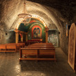 Stock Photo: St. John Chapel is located at depth of 135m below ground, Poland