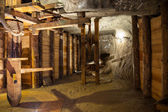 One of the chambers salt in the Wieliczka Salt Mine, Poland. — Stock Photo