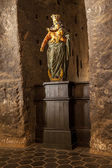 Our Lady of Victory statue dating from the 17th century. — Stock Photo