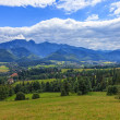 Polish mountains landscape — Stockfoto