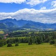 Stock Photo: Polish mountains landscape