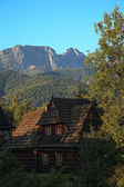 View the top Giewont — Stock Photo