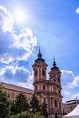 Kyrkan i eger — Stockfoto