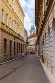 Eger v Maďarsku — Stock fotografie