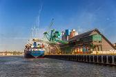 Loading ship — Stock Photo