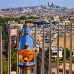 Cityscape Paris — Stock Photo