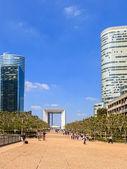 Modern buildings in Paris — Zdjęcie stockowe