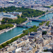 Aerial view of Paris — Stock Photo #16248513