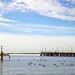 Pier in Orlowo — Stock Photo