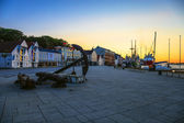 Stavanger by evening — Stock Photo