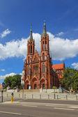 Basílica en bialystok — Foto de Stock