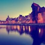 Gdansk of Riverside at dawn — Stock Photo #18257815