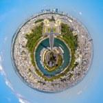 Urbanization of the planet — Stock Photo