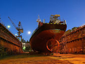 Shipbuilding — Stock Photo