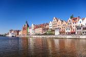 Cidade de gdansk — Foto Stock