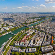 Skyline of Paris — Stock Photo