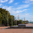 Kosciuszko Square in Gdynia, Poland. — Stock Photo