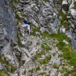 Man climbing - Stock Photo
